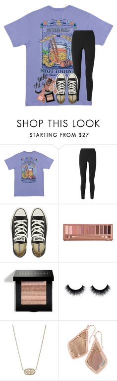 """i wonder if your therapist knows everything about me"" by rxindrops-on-roses ❤ liked on Polyvore featuring NIKE, Converse, Urban Decay, Bobbi Brown Cosmetics and Kendra Scott"