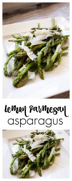 Lemon Parmesan Aspar