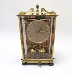 Schatz Anniversary Perpetual Key Wound Clock by CreekLifeTreasures, $126.00