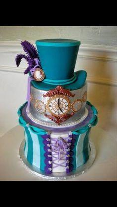 Alice and wonderland cake -Michelle