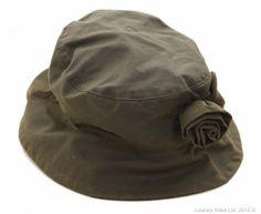Barbour Ladies' Valerie Wax Rose Hat - Olive LHA0026OL11 (H541)