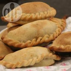 Recipe Print Authentic Beef Empanadas with Homemade Empanada Pastry recipe - All recipes Australia NZ Pastry Recipes, Cooking Recipes, Beef Empanadas, Cookies Et Biscuits, International Recipes, Allrecipes, Mexican Food Recipes, Food Processor Recipes, Food And Drink