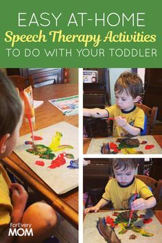 Speech Therapy For Kids: Activities to Do With Your Toddler