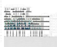 Gallery of 'UNIK' Apartments / Beckmann-N'thepe Architectes - 32