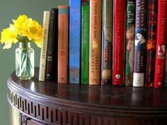 Flowers and books... lots of them please!