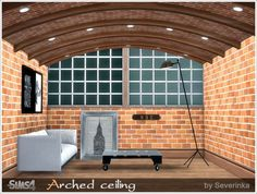 Sims by Severinka: Arched ceiling • Sims 4 Downloads
