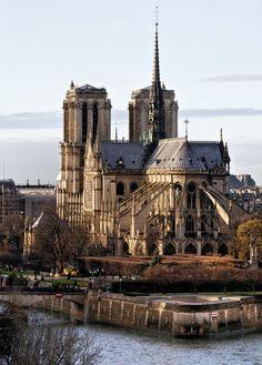 cathédrale notre dame de paris - art gothique