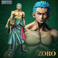 Anime One Piece Action figure Cartoon color Roronoa Zoro figurine Collectible Model Ornaments Gift doll toy. Yesterday's price: US $44.86 (39.35 EUR). Today's price: US $37.68 (33.00 EUR). Discount: 16%.