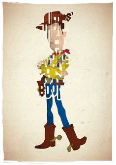Tom Hanks as Woody in Toy Story by Ayse T. Werner