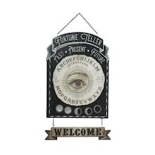 Fortune Teller Eye Welcome Wall Sign by Ashland®