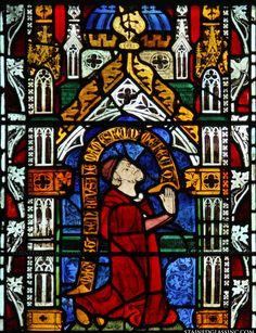 Prayer Religious Stained Glass Window