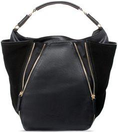 Bucket Bag With Zips