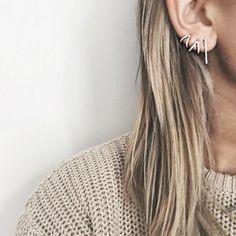 The 50 most unique multiple ear piercing ideas