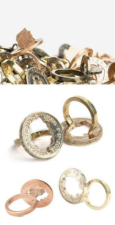 Kota Okuda, the UK-based Japanese jeweller has a collection that's all coins, all the time. Coin jewelry