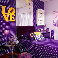 quartos de solteiro de luxo roxo - Pesquisa Google
