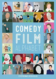 Stephen Wildish- Comedy Film Alphabet