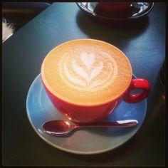 Flat white London Coffee Shop, White Coffee, White Flats, Latte Art, Menu, Tasty, Tableware, Food, Style