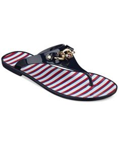 Tommy Hilfiger Women's Danon Jelly Thong Sandals