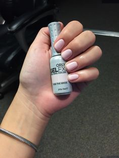 "Orly gel polish in ""kiss the bride"""
