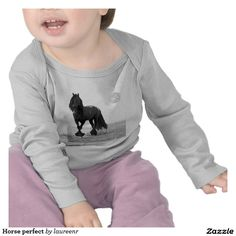 Horse perfect t-shirt for babies