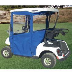 Curtis cab hard door enclosure golf cart golf cart for Golf cart garage door prices