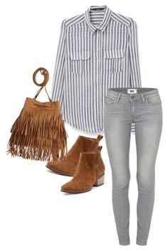 """Casual #2"" by kaitarnold ❤ liked on Polyvore featuring MANGO, Paige Denim and H&M"