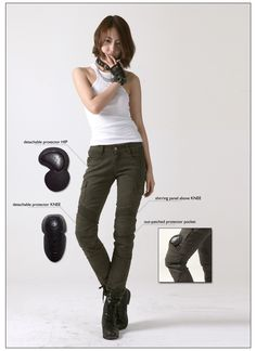 Cool women's pants for everyday riding (with Kevlar) ...but then i have curves