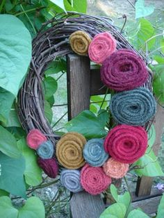 Creative Passage: Rosy Fall Wreath