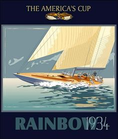 America Cup Poster