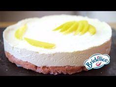 (3) Recette : Bavarois rose-mangue-litichi aux biscuits roses par Bridélice - YouTube