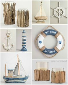Nautical Home Decor #beach @Carla Gentry Gentry Gentry Gentry Costephens Plus World Market