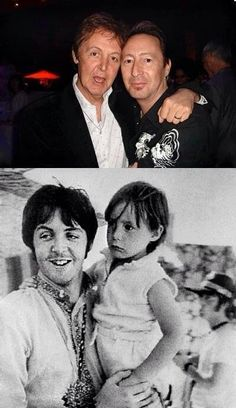 IMAGINE!   People throw that word around.  Let's imagine John being a better parent to Julian.  Paul was a good dad and good friend to Julian.