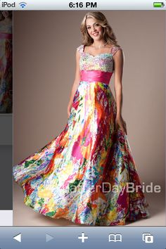 This dress is from Latter-Day bride and is GORGEOUS!!!