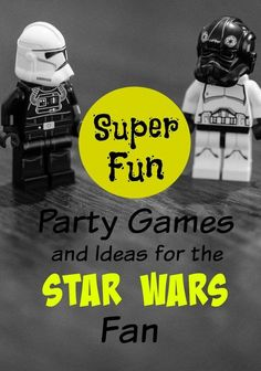 Your next party will be amazing with our Star Wars Party games! All of your friends will love being a Jedi while celebrating at your party!