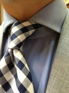 White & Blue pattern combo