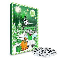 VfL Wolfsburg Kalender, Adventskalender, Weihnachtskalender - Fairtrade-zertifiziert © VfL VfL Wolfsburg http://www.amazon.de/dp/B015ESJB98/ref=cm_sw_r_pi_dp_iFwhwb0E8RAE5