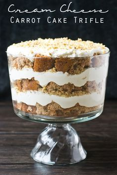Cream Cheese Carrot Cake Trifle on MyRecipeMagic.com