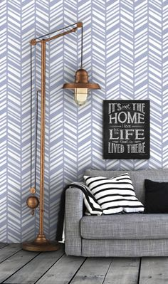 Herringbone Pattern Self Adhesive Vinyl Wallpaper D197 by Livettes, $34.00