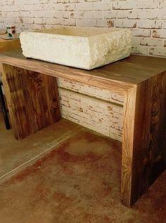Mensola da bagno in legno finitura naturale Kimberly | Mensole ...
