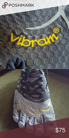 Recently ⤵️VIBRAM Mens foot glove shoes sz 12, worn once- excellent condition! Vibram Shoes Sneakers