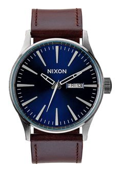 Sentry Leather | Men's Watches | Nixon Watches