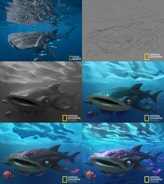 ArtStation - Cartoon National Geographic 08, Crazy JN