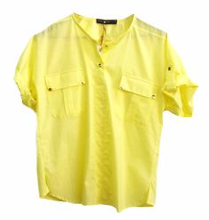 Camisa Amarela Martingale/ Yellow shirt