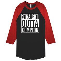 Straight Outta Compton Baseball T-shirt