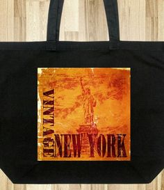 Vintage Style Tote Bags - New York