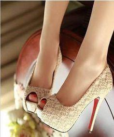 Super cute high heels!