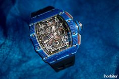 Richard Mille RM 11-03 Jean Todt 50th anniversary - With no doubt, the quintessential Formula One chronograph