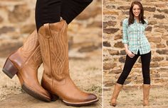 Get the Look: Ariat Pure Country | http://www.countryoutfitter.com/style/get-look-ariat-3/
