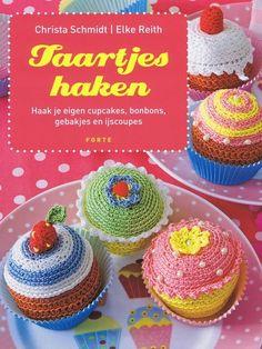 18 Beste Afbeeldingen Van Taartjes Haken Crochet Food Crochet