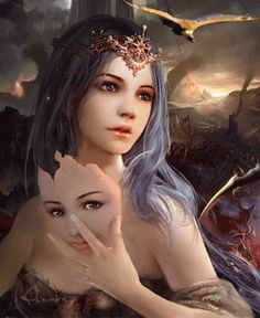 Discover & share this Animated GIF with everyone you know. GIPHY is how you search, share, discover, and create GIFs. Dragons, Create Animated Gif, Les Gifs, Archangel Michael, Animation, Months In A Year, Fantasy Art, Portrait Photography, Fairy Tales